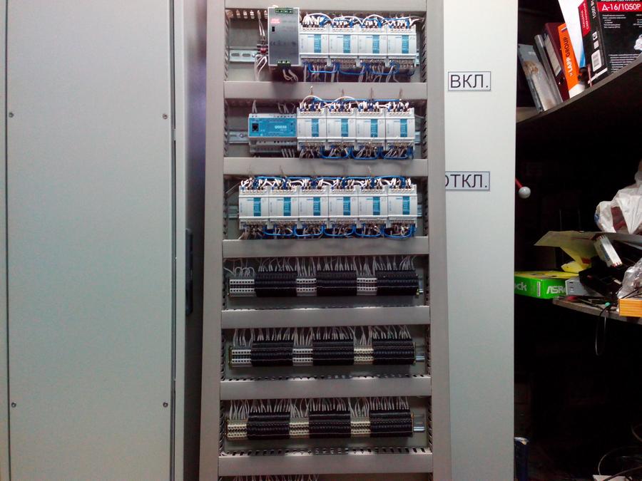Шкаф управления технологическими процессами печи